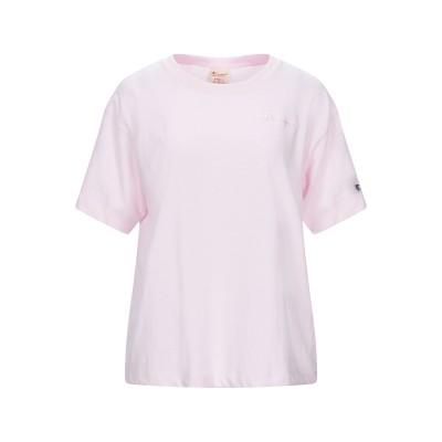 チャンピオン CHAMPION T シャツ ライトピンク XS コットン 100% T シャツ