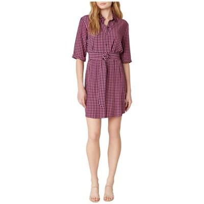 ビービーダコタ レディース ワンピース トップス Checks Every Box Yarn-Dyed Gingham Dress