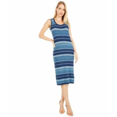 ラルフローレン レディース ワンピース トップス Striped Sleeveless Dress Blue Multi