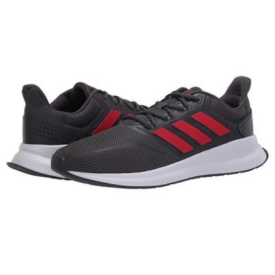 アディダス Runfalcon メンズ スニーカー 靴 シューズ Grey Six/Scarlet/Footwear White