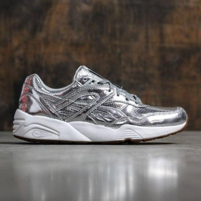 ユニセックス スニーカー シューズ Puma x ALIFE Men R698 Trinomic (silver / white)