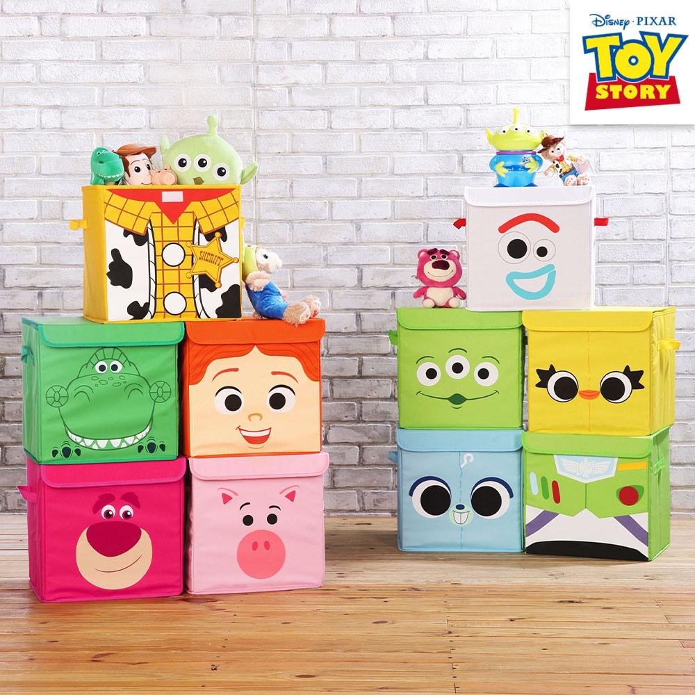 迪士尼授權玩具總動員方形摺疊收納箱正版授權 衣物整理收納箱 整理箱 換季收納 收納盒 置物箱 收納櫃5ip8