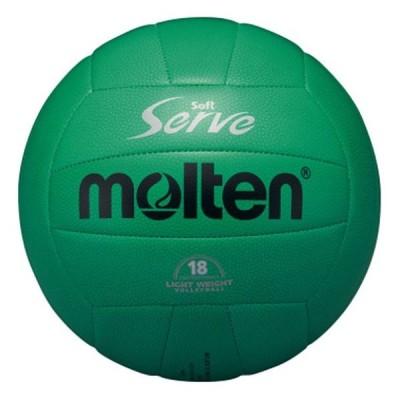 モルテン Molten ソフトサーブ軽量 4号球 体育・授業用  バレー ボール EV4G 取寄