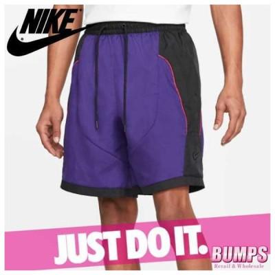 NIKE ナイキ ハーフパンツ ショート 短パン メンズ スローバック カラーブロック ロゴ バスケットボール 半ズボン ボトムス 新作