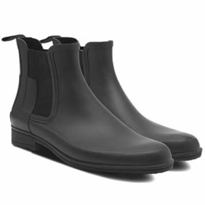 ハンター メンズ オリジナル リファインド チェルシーブーツ Hunter Mens Original Refined Chelsea Boots 長靴 レインブーツ
