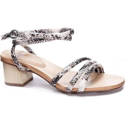 チャイニーズランドリー Chinese Laundry レディース サンダル・ミュール シューズ・靴 Montezuma Block Heel Dress Sandals Black/Cream