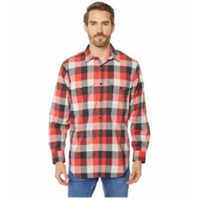 フィルソン メンズ シャツ トップス Twin Lakes Sport Shirt Red/Black/Cream