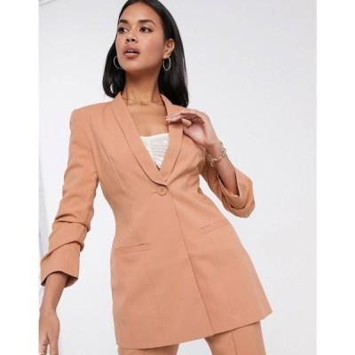 エイソス ASOS DESIGN レディース スーツ・ジャケット アウター Hourglass mix & match suit blazer ベビーピンク
