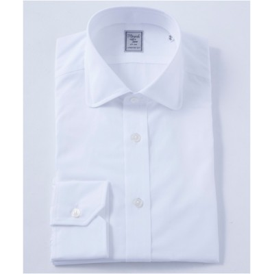 [シャツ]ヒトヨシ ドレスシャツ HB7S-R-038 ホワイト 40-86