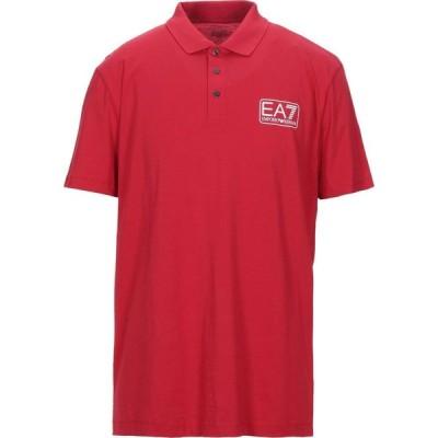 イーエーセブン EA7 メンズ ポロシャツ トップス Polo Shirt Red