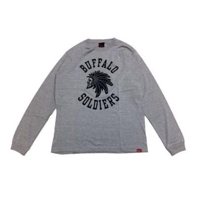 MURAL(ミューラル)長袖Tシャツ B.S. L/S T-SHIRT / GRAY グレー