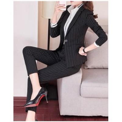 おしゃれ パンツスーツ セットアップ レディース 大きいサイズ 淑女 スーツ スカートスーツ オフィス 正式 着痩せスーツ ビジネス 冠婚葬