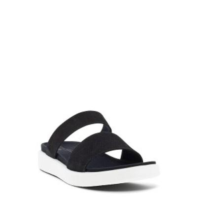 エコー レディース サンダル シューズ Yuma Two-Strap Sandal BLACK