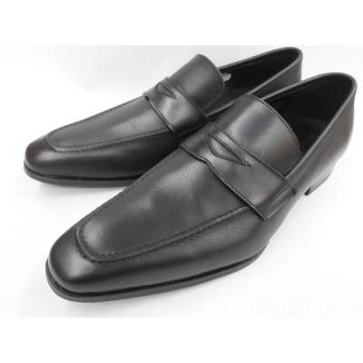 在庫限り(即日発送)フープディドゥ スタイリッシュ ビジカジローファー 348024 (ブラック)  whoop'-de-doo'  メンズ靴