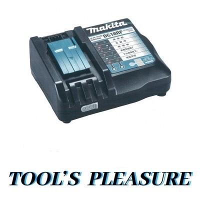 マキタ[makita]14.4V/18V メロディ付急速充電器 DC18RF/国内純正(USB端子付)