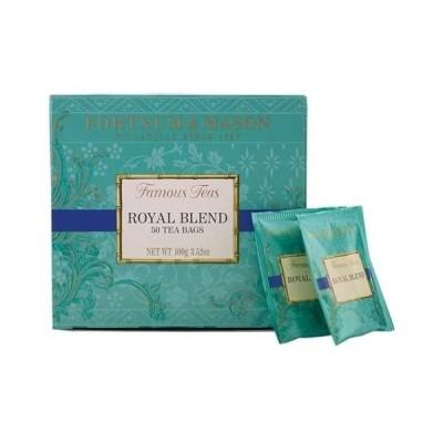 英国 Fortnum&Mason (フォートナム&メイソン) ロイヤルブレンド 50ティーバッグ 紅茶 Royal Blend [並行輸入品]