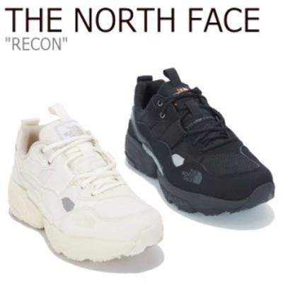 ノースフェイス スニーカー THE NORTH FACE メンズ レディース RECON リコン WHITE ホワイト BLACK ブラック NS93M05J/K シューズ