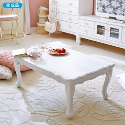 【直送】猫脚折りたたみテーブル(小・引出無) 【CPNG★】