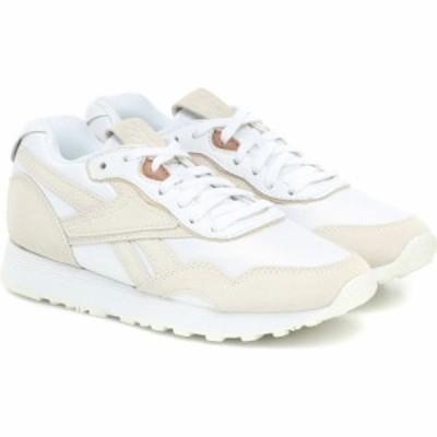 リーボック Reebok x Victoria Beckham レディース スニーカー シューズ・靴 Rapide suede sneakers White/Alabas/Vbbest