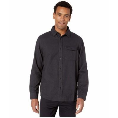 ノースフェイス シャツ トップス メンズ Long Sleeve Stayside Chamois Shirt Asphalt Grey