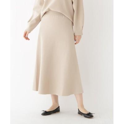 DRESSTERIOR(Ladies)(ドレステリア(レディース)) 【セットアップ可】ミラノリブニットロングスカート