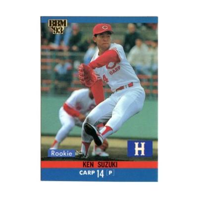 BBM1993 ベースボールカード レギュラーカード No.427 鈴木健