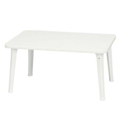 永井興産 お絵描き出来る折りたたみペイントテーブル(ホワイト) INES(アイネス) NK-6040WH 【返品種別A】