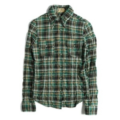 L'Appartement(アパルトモン) ヘリンボーン シャーリングネルシャツ チェックシャツ 36 【レディース】【中古】【美品】【K2281】