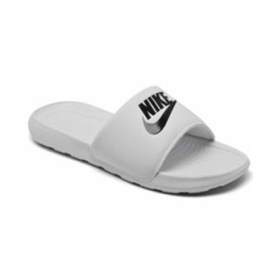 ナイキ レディース スニーカー シューズ Women's Victori One Slide Sandals from Finish Line White Black
