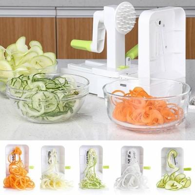 多機能野菜フルーツチョッパー手回転サラダシュレッダーディナーマシンキッチンツール