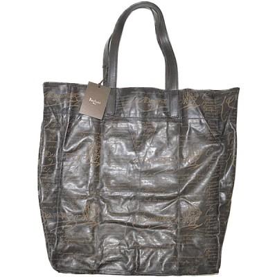 ◆ベルルッティ◆未使用品 スクリット カリグラフィ トートバッグ メンズバッグ ショッパートート 折り畳み可能 SETA CALF BERLUTI Figure1