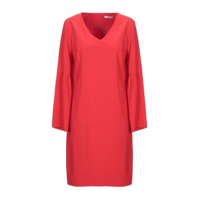 LANACAPRINA ミニワンピース&ドレス レッド 42 ポリエステル 95% / ポリウレタン 5% ミニワンピース&ドレス