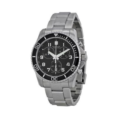 ビクトリノックス 腕時計 マーベリックGS 241432 ブラック×シルバー