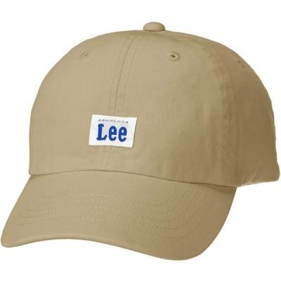 [リー] ローキャップ Lee KIDS LOW CAP COTTON TWILL 100276301 BEIGE 日本 53cm~55cm (日本サ