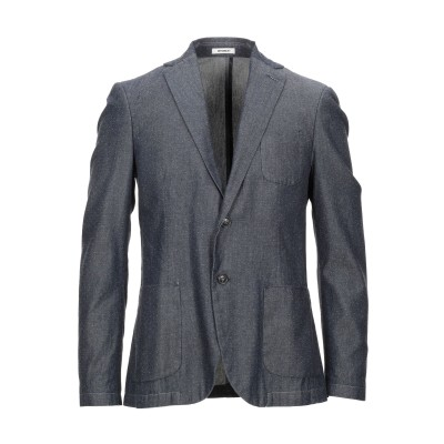 OFFICINA 36 テーラードジャケット ブルー 50 コットン 100% テーラードジャケット