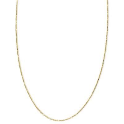 """メイシーズ Macy's ユニセックス ネックレス ジュエリー・アクセサリー 14k Gold Necklace, 16-20"""" Diamond Cut Box Chain (5/8mm) No Color"""