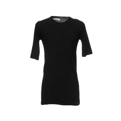 ノストラサンティッシマ NOSTRASANTISSIMA T シャツ ブラック S コットン 100% T シャツ