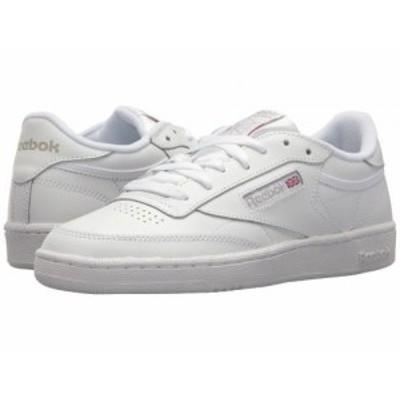 Reebok Lifestyle リーボック レディース 女性用 シューズ 靴 スニーカー 運動靴 Club C 85 White/Light Grey【送料無料】