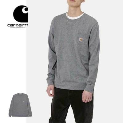 カーハート WIP ロンT 長袖 Tシャツ Carhartt WIP L/S POCKET T-SHIRT I022094 D.GRY.H 長袖Tシャツ トップス ワークインプログレス [200925]