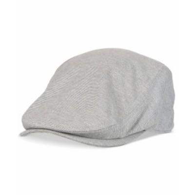 リーバイス メンズ 帽子 アクセサリー Men's Stretch Flat Top Ivy Hat Grey