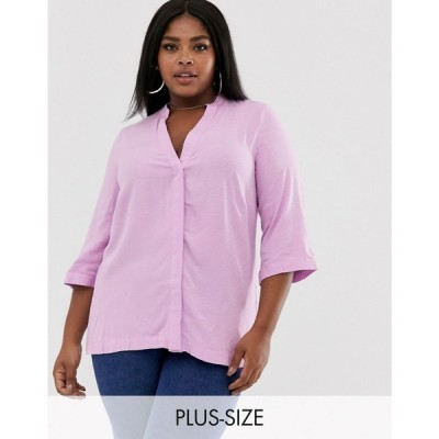 アイ シーナリー i.Scenery レディース ブラウス・シャツ トップス cut out back blouse ピンク