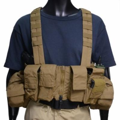 LBX Tactical チェストリグ 0062 ロック&リード M4 M16対応 [ コヨーテブラウン ][lbx0062cb]
