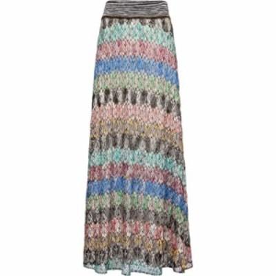 ミッソーニ Missoni レディース ロング・マキシ丈スカート スカート zigzag high-rise knit midi skirt SMo