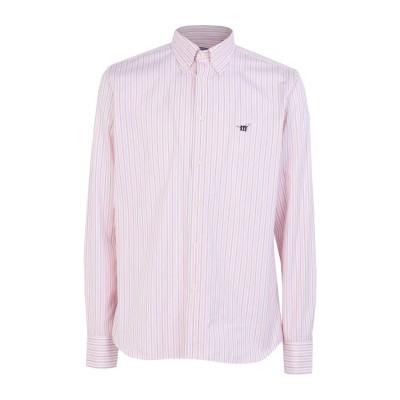 ヘンリー コットンズ HENRY COTTON'S シャツ ピンク M コットン 100% シャツ