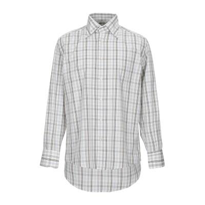 DICKSON シャツ ライトグレー 39 コットン 100% シャツ