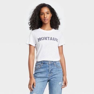グレイソン スレッド Grayson Threads レディース Tシャツ トップス Montauk Short Sleeve Graphic T-Shirt - White