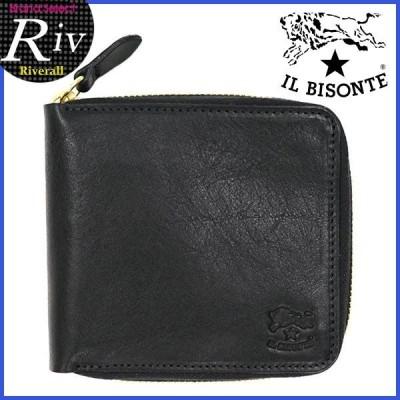 [厳選]イルビゾンテ カードケース メンズ IL BISONTE c0935