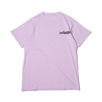 アトモス ピンク atmos pink SUPER LOVERS × atmos pink BIG T-shirt (PURPLE)