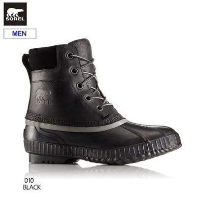 ソレル メンズ ウィンターブーツ シャイアンII NM2575 010(Black) スノーブーツ 防寒ブーツ 防水 NM2575-010