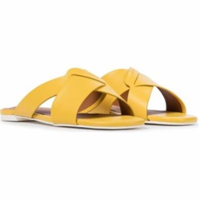 ロベール クレジュリー Clergerie レディース サンダル・ミュール シューズ・靴 issy leather slides Sunflower